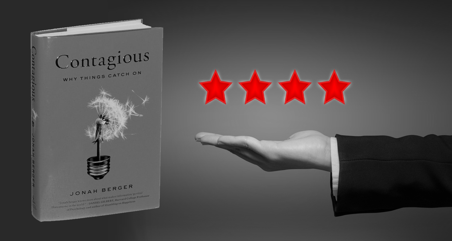 contagious book review star rating