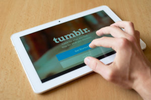 tumblr on tablet